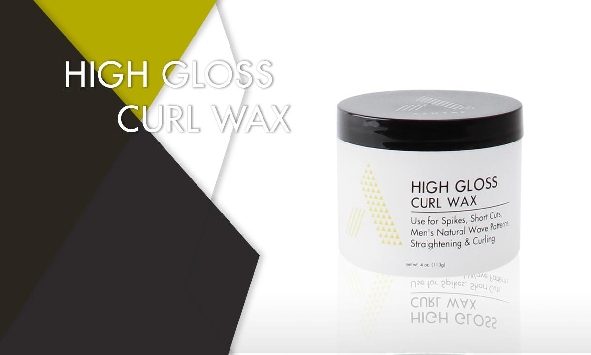 High Gloss Curl Wax